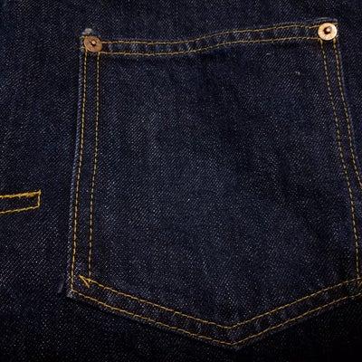 赤タブ。 ジージャン ファースト 1st デニムジャケット 506の記事に添付されている画像