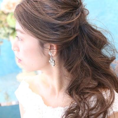 結婚式外注ヘアメイクBlog/花嫁ハーフアップの記事に添付されている画像