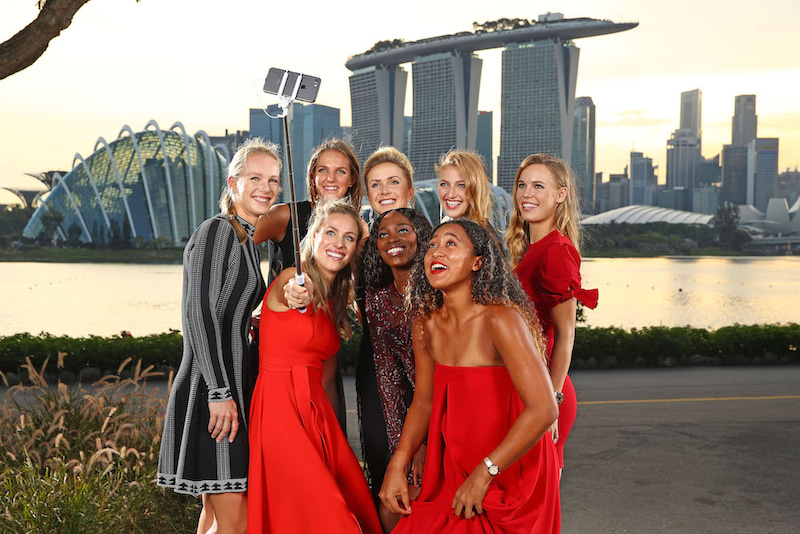 WTAファイナルズ2018:世界ラン...