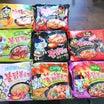 ハマっている韓国プルダックポックンミョンいろいろな味を食べ比べ♪