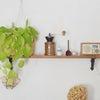 キッチン棚の取り付け*下地なしの場所に棚をつける方法*の画像