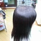 縮毛矯正ファイル80(塩基性カラーで白髪染)の記事より