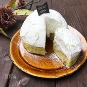 【さつま芋の簡単スイーツ】スイートポテトの2層ケーキ