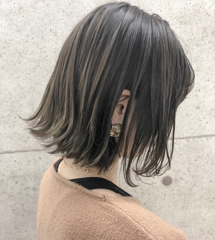髪型 ボブ アラフォー