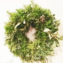 Paris style クリスマスリースレッスンの記事に添付されている画像