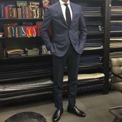 Sato Tailor銀座店でスーツをオーダー【6着目】前編の記事に添付されている画像