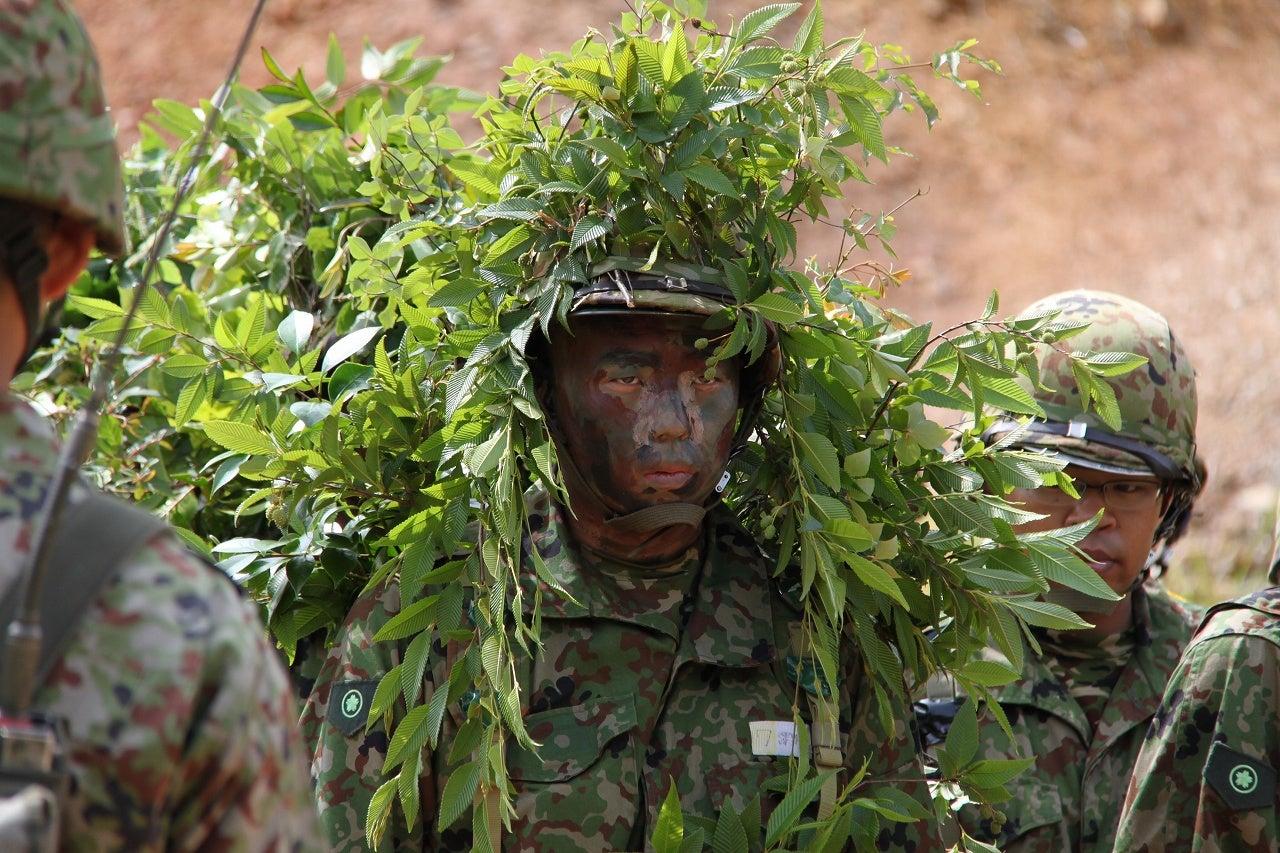 元自衛隊員が擬装のやり方を解説 | 戦車兵のブログ