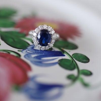 サファイア、婚約指輪にもいかがですか?の記事に添付されている画像