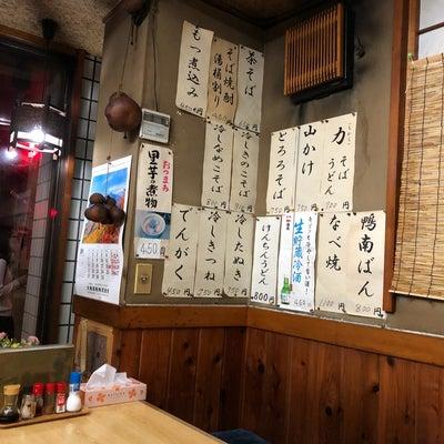昭和の蕎麦屋の記事に添付されている画像