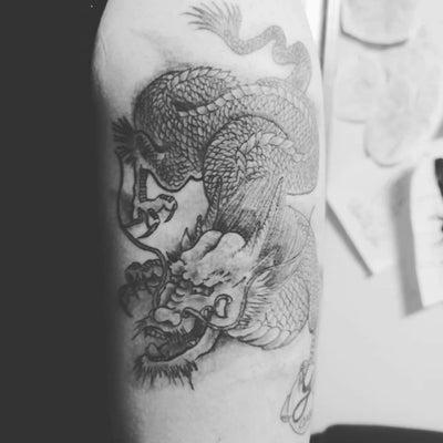 龍の刺青 龍のタトゥーの記事に添付されている画像
