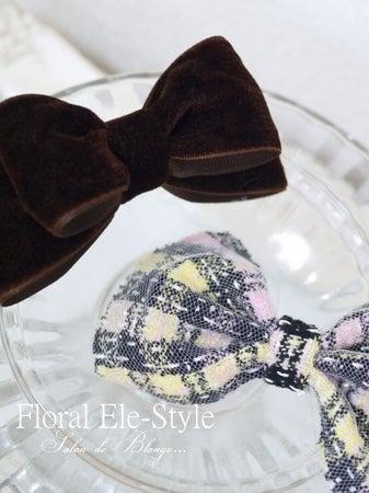 Floral Ele-Styleヘアアクセサリーコース~生徒様の作品~