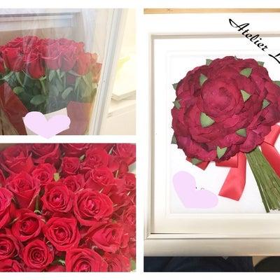 プロポーズのお花を残したい❣️の記事に添付されている画像