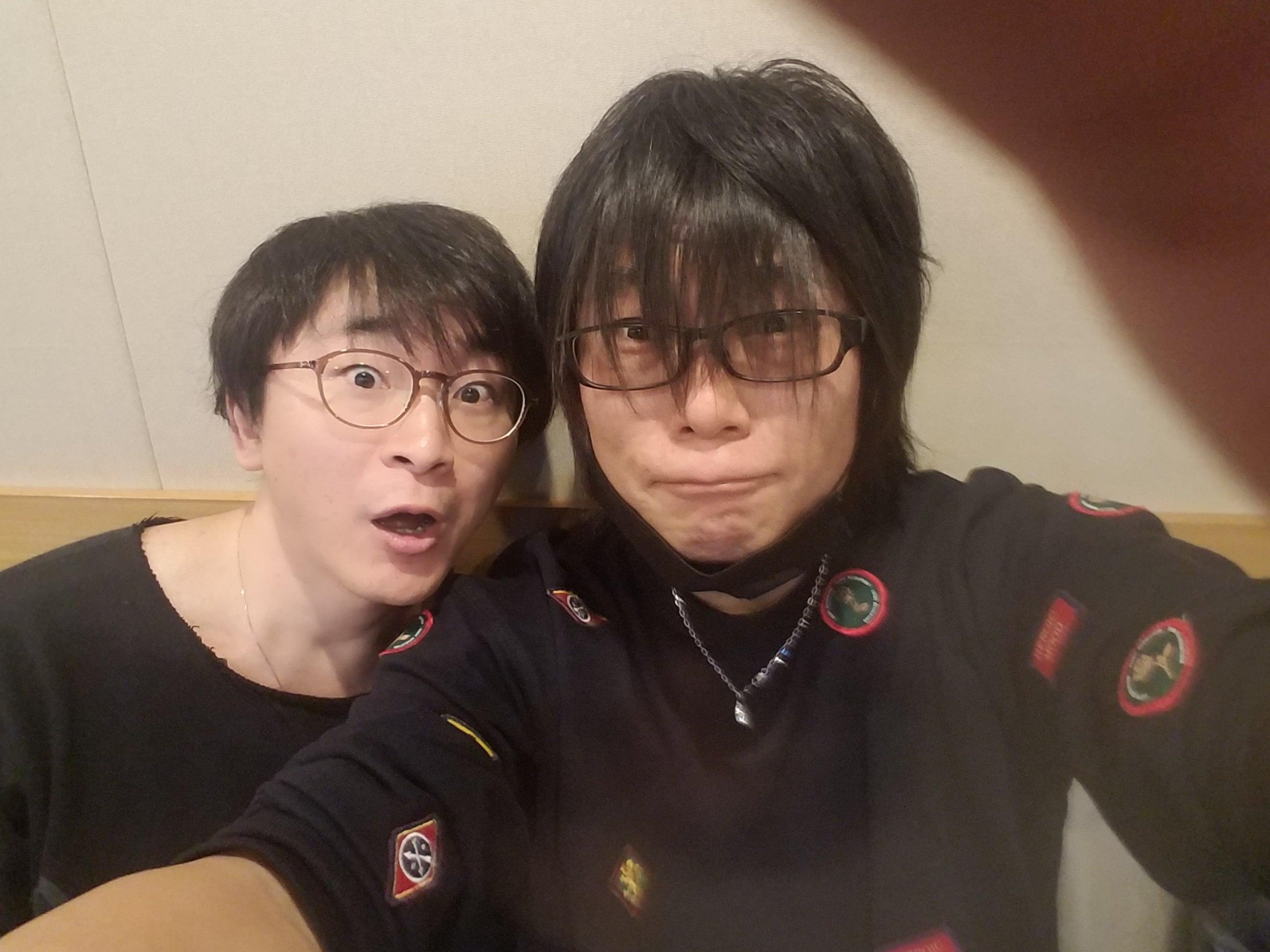 阿部敦&森川さん♪ | 森川智之オフィシャルブログ Powered by Ameba