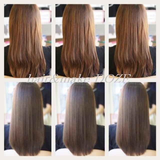 もはや髪質改善というより髪質再正!!!
