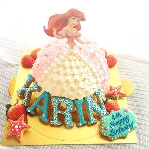 【募集】プリンセスドレスケーキレッスンご案内♪の画像