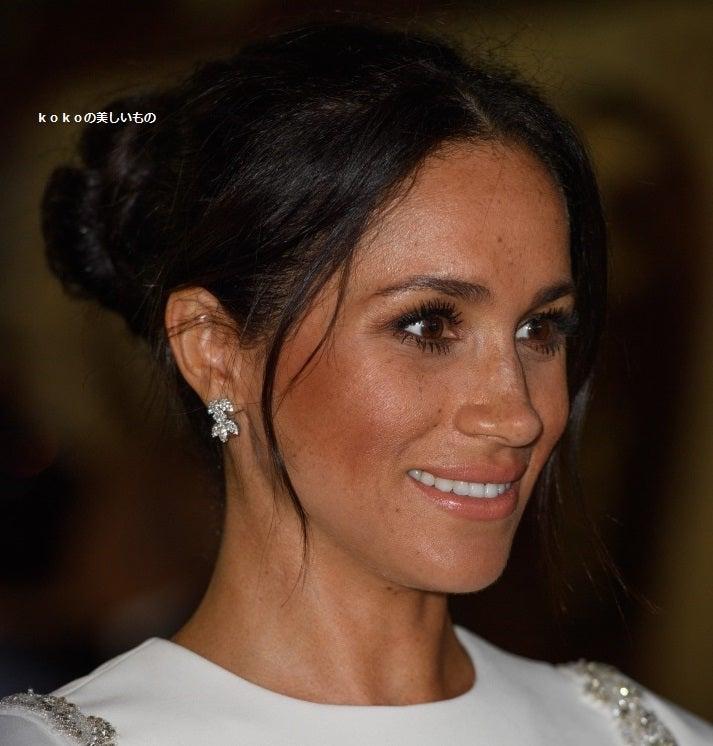英国王室メーガン妃2018年10月25日Tonga トンガ訪問ファッション ロイヤルツアー⑩