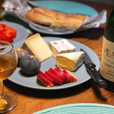 美食のノルマンディー/チーズとシードルの相性の記事に添付されている画像