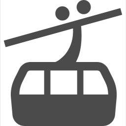 駒ヶ根駅前のインターロッキングの模様 サラリーマンスキーヤーの日常