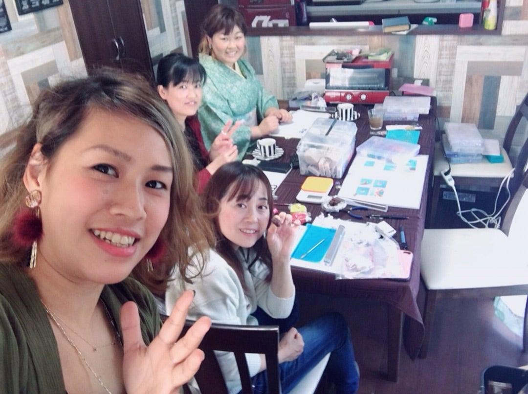 アトリエコロコロ アクセサリー教室 南大阪 マーブルクレイ
