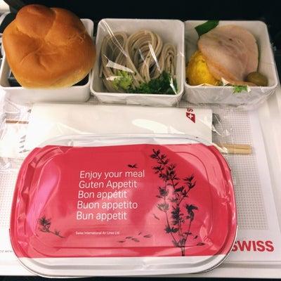 スイスインターナショナルエアラインズの機内食 往路 ~スイスグルメ日記(1)~の記事に添付されている画像
