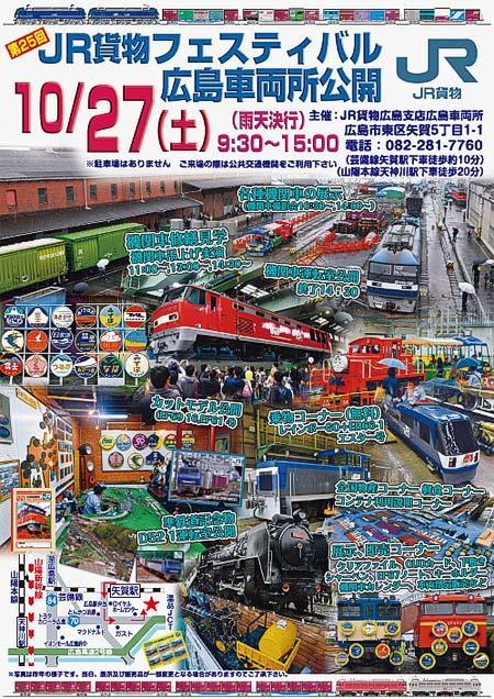 JR貨物フェスティバル 広島車両所公開
