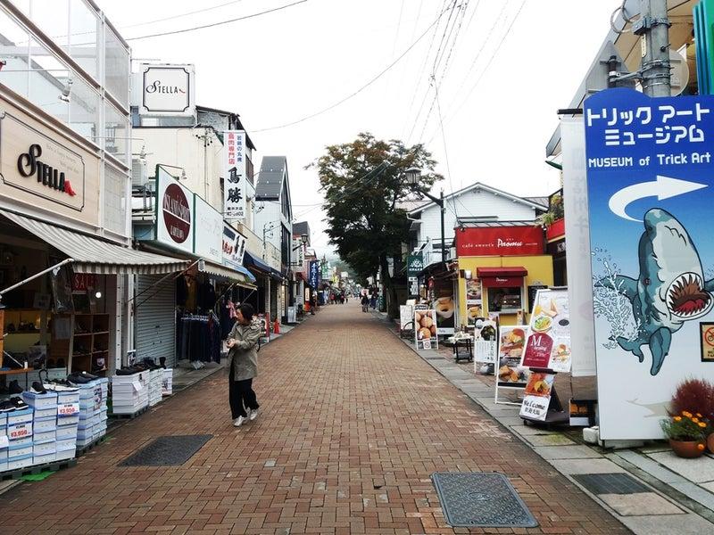 旧 軽井沢 銀座 通り