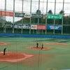 次男の野球の応援に神宮球場への画像