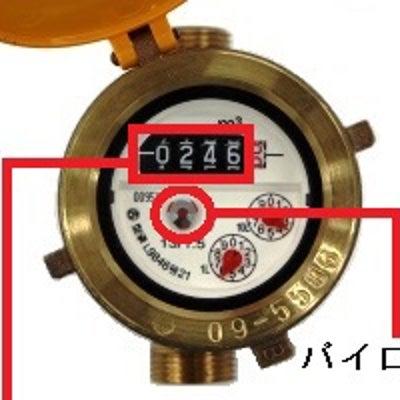 水道検針でわかった漏水トラブルの記事に添付されている画像