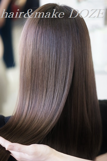 髪質再正で美髪へ。