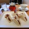 ケーキみたいなフルーツサンド@京橋千疋屋の画像