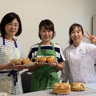 【日曜コース受付】プロに学ぶ翌日もふわふわパンが焼けるようになる手ごねパン教室6回コース