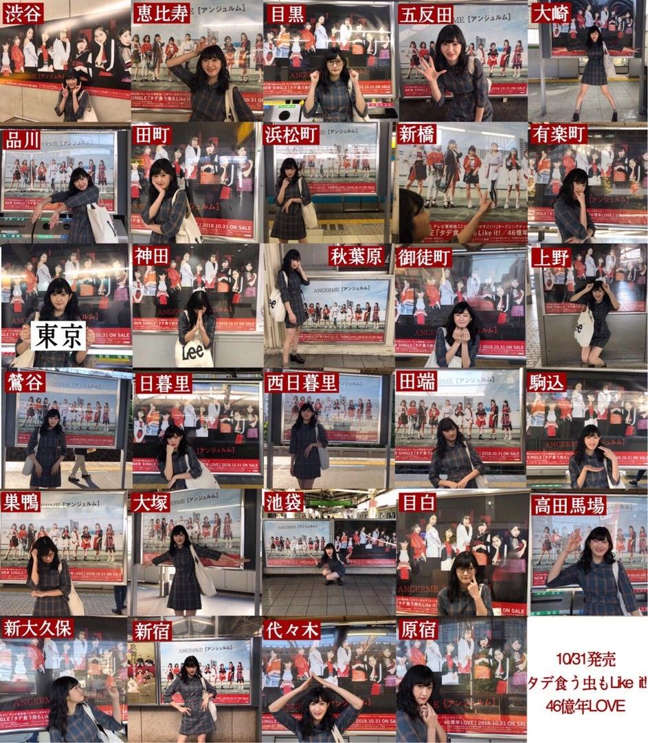山手線29駅のアンジュルム広告ポスター全制覇した奴wwwww