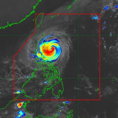 大型の台風26号、30日にルソン島北部に上陸!の記事に添付されている画像