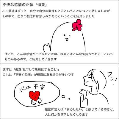 不快な感情の正体「侮蔑」の記事に添付されている画像