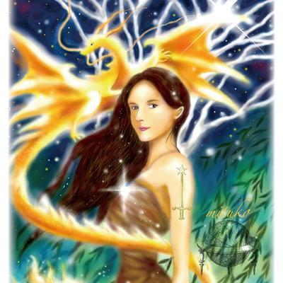 あなたの本質の姿を女神の肖像画に描きますの記事に添付されている画像