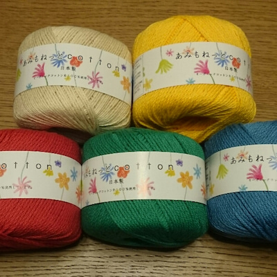 ポチした糸でモチーフ編み♪の記事に添付されている画像