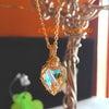 心もクリアにしてくれそう♪水晶のネックレスが届いていますの画像