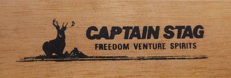 キャプテンスタッグ ロースタイルチェア ホワイト CSクラシックス