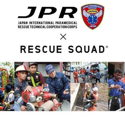 【コラボ】JPRとRESCUE SQUADのコラボTシャツが実現!の記事に添付されている画像