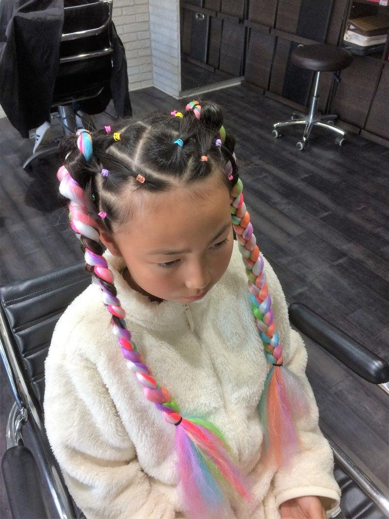 ダンス 髪型 子供
