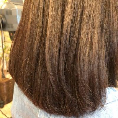 繰り返しの縮毛矯正でも枝毛一つありませんの記事に添付されている画像