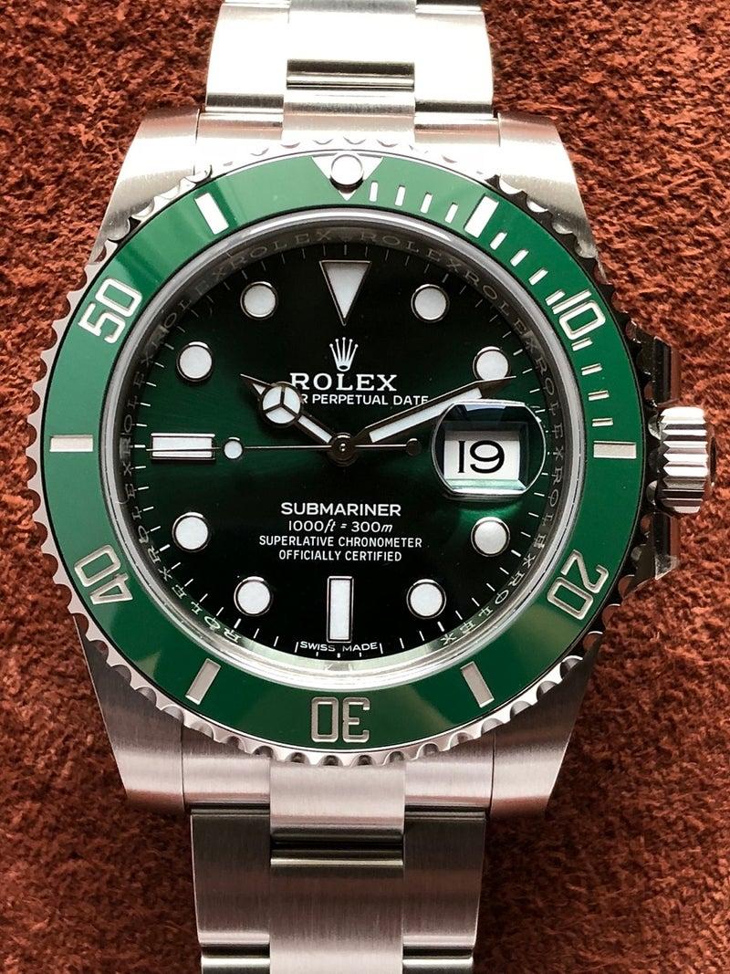 wholesale dealer 7cf8c 0edae ロレックス サブマリーナ デイト Ref.116610LV SS 緑文字盤 未 ...