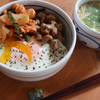 発酵朝ごはん【発酵丼】の記事に添付されている画像