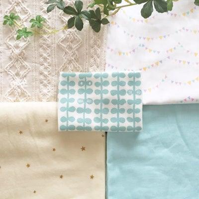 赤ちゃんのためにベビーグッズを手作りしてみたい☆生地選び(特徴と縫う難易度)の記事に添付されている画像