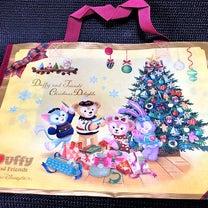 ショッピングバック♡ ダッフィーのクリスマス2018の記事に添付されている画像