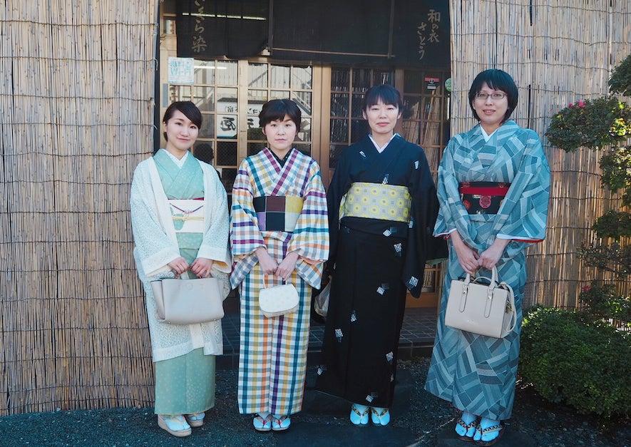 【乙女会】きものde武家屋敷in金ヶ崎