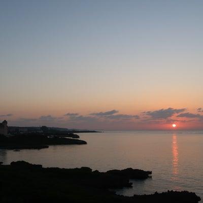 朝陽と池間島への記事に添付されている画像