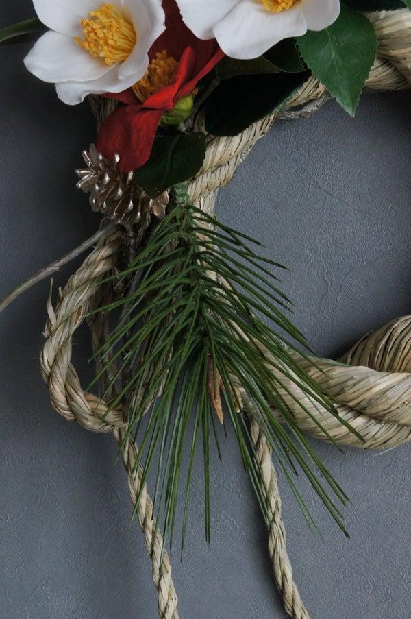 造花 アートフラワー しめ縄 お正月飾り 松