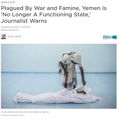 イエメンはもはや国家としてまともに機能していない(英語)の記事に添付されている画像