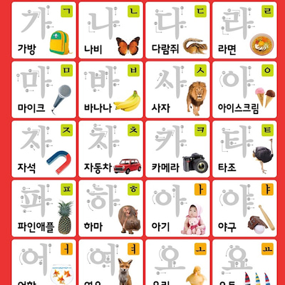 韓国語超初級者! ハングル書き方! 書くか?描く? どっち?の記事に添付されている画像